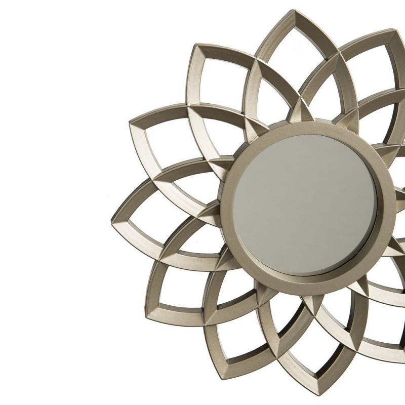 espejos de pared clsicos plateados de resina para decoracin de 25 cm arabia - Espejos Plateados