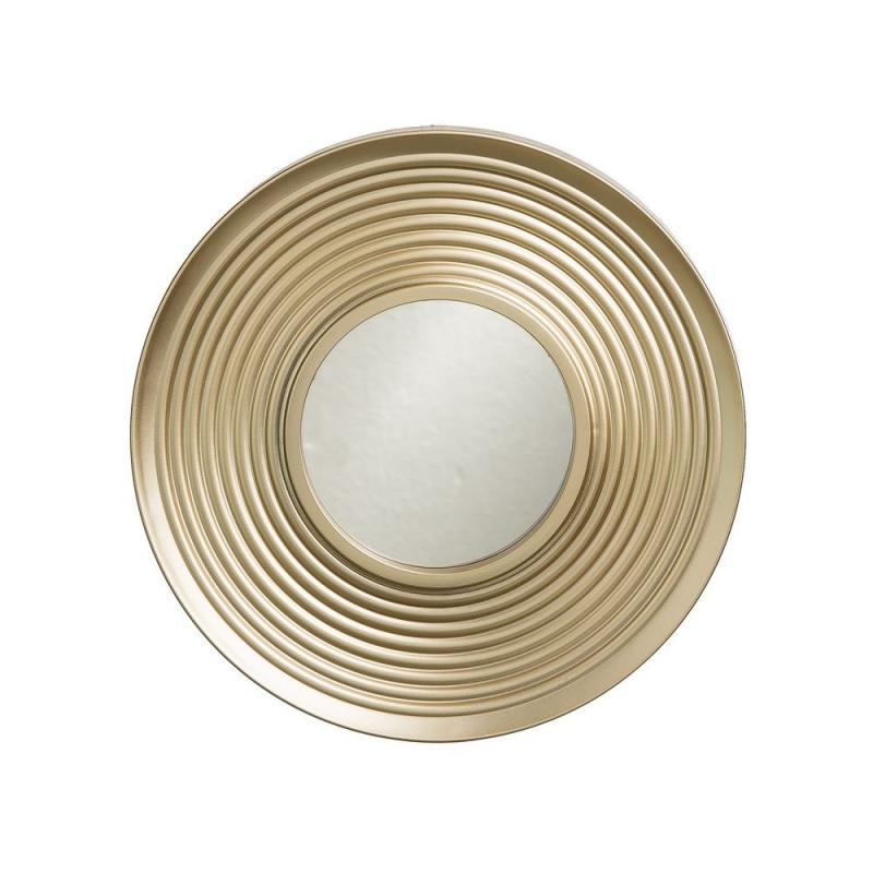 Juego de 3 espejos de pared modernos dorados para sal n - Espejos dorados modernos ...