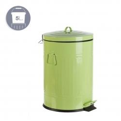 Papelera Antigua 5L Verde Pastel