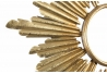 Espejo de pared provenzal dorado de metal para la entrada de 66 cm France