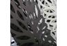 Paragüero moderno metal negro . 15,50 x 15,50 x 49 cm
