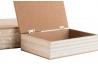 "Cajas decoradas scandi de madera color pastel ""Set 2 caja"""
