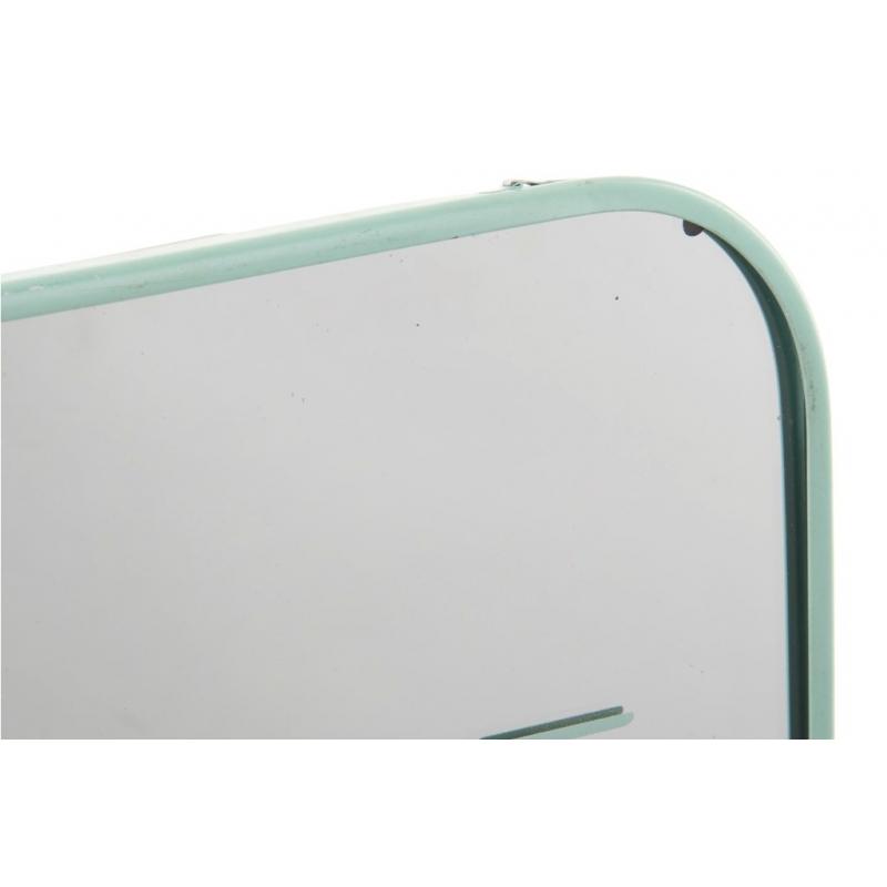Espejos de pared metal scandi color pastel 25x25 cm - Espejos para pared ...