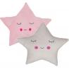 Juego de 2 cojines relax extrasuave en forma de estrella