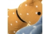 Tope de puerta decorativo perro tela-alena .