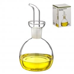 Aceitera de cristal antigoteo 500 ml en caja