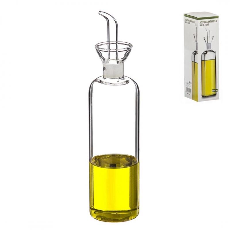 Aceitera de cristal antigoteo en caja dcasa - Aceiteras de cristal ...