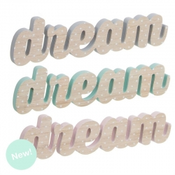 Letras madera decorativas infantil dream .