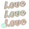 Letras madera decorativas infantil Love .