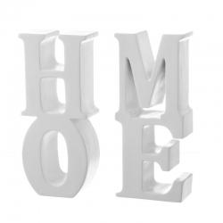 Sujetalibros original blanco poliresina 17.5x4.5x20cm