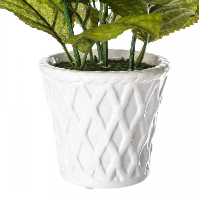 Pack 3 hortensia artificial maceta de porcelana - Macetas de porcelana ...