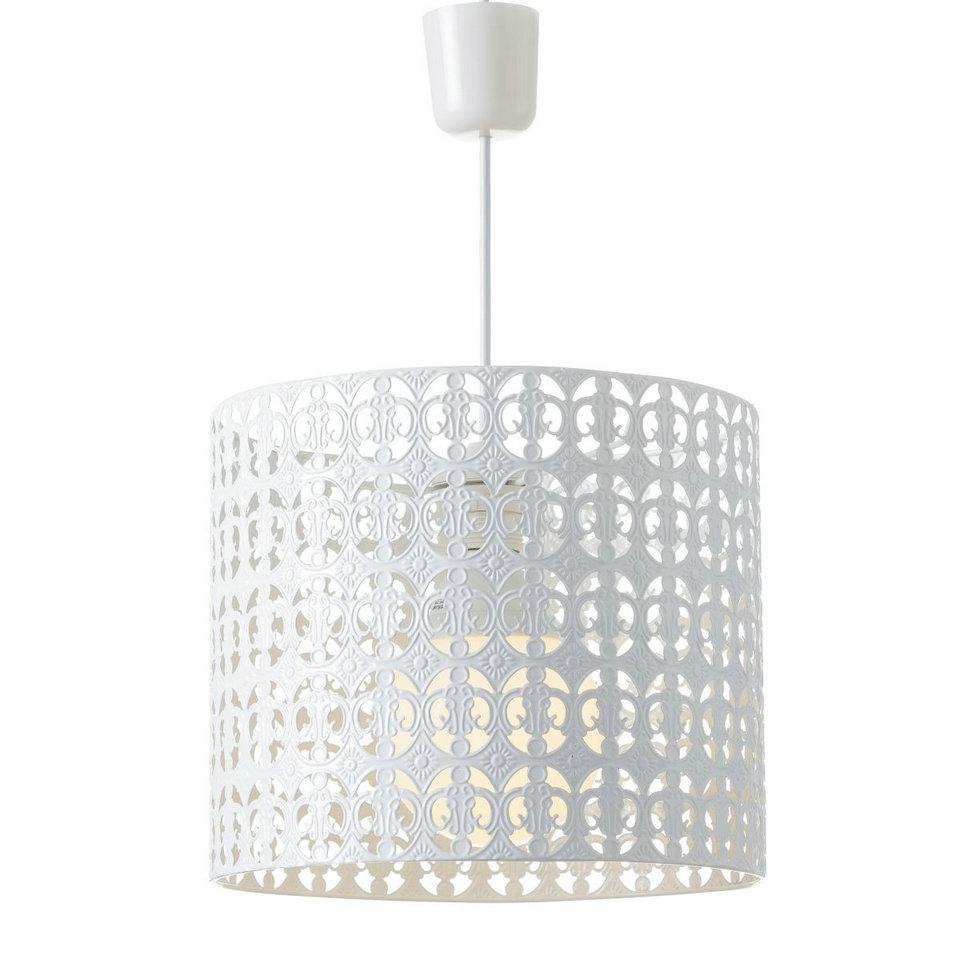 Lámpara de techo árabe blanca de metal para cocina Arabia|Dcasa.es