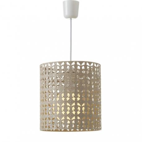 Lámpara de techo árabe beige de metal para decoración Arabia