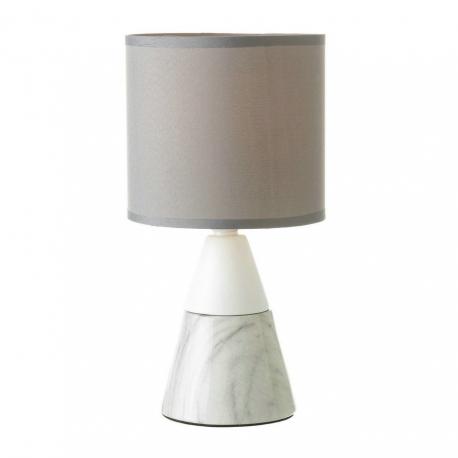 Lámpara de sobremesa moderno gris de cerámica para salón Fantasy