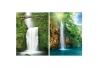 Cuadros de paisaje cascada de lienzo para salón de 60x80 cm Vitta
