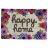 """Felpudo """"happy home"""" fibra de coco 60 x 40 x 1,50 cm"""