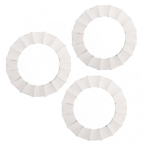 Espejos de pared modernos blanco para decoración France