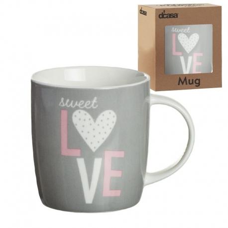 Mug ceramica tea love .