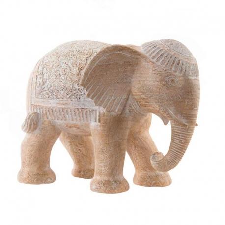 Figura elefante de resina decape .