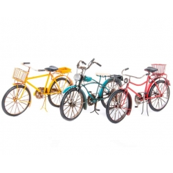 Bicicleta metal decorativa 31x10x16 cm