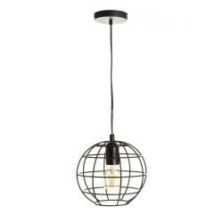 Lámpara de techo industrial negra de metal para oficina Factory