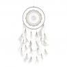 Atrapasueños tela plumas boho tribal decorativa .
