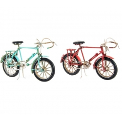 Bicicleta decoracion metal vintage retro .