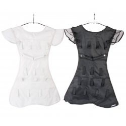 Percha joyero vestido poliester 46x68 cm