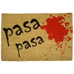 Felpudo con Diseño Pasa, Coco, 60 x 40 cm