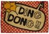 Felpudo Ding Dong de coco 60 x 40 cm .
