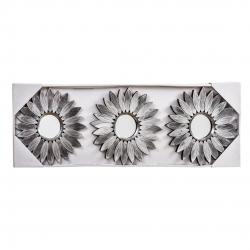 Espejos de pared árabes plata para salón de 25 cm Arabia