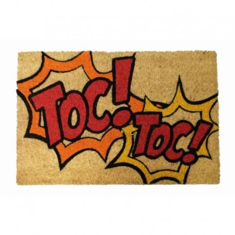 Felpudo original Toc Toc 40x60 cm .