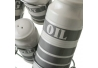 Aceitera vinagrera industrial gris de cerámica para cocina Factory