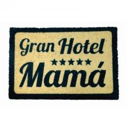 Felpudo con Diseño Gran Hotel Mamá 40x60 cm .