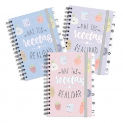 """Libro recetas """"La huerta"""""""