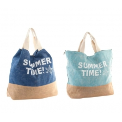 "Bolso jute ""Summer Time"""