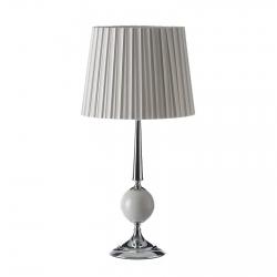 Lámpara de mesa árabe blanca de metal para salón Arabia
