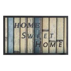 Felpudo multicolor Home Sweet Home 75x45 cm .