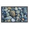 Felpudo multicolor piedras Love 75x45 cm .