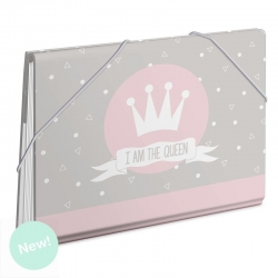 "Carpeta con divisores "" I Am The Queen """