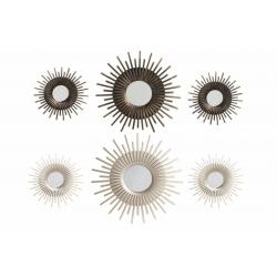 Set 6 Espejos de pared clásicos para decoración de 25 cm Vitta