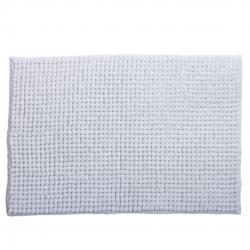 Alfombra baño confort blanca 60x40 cm .