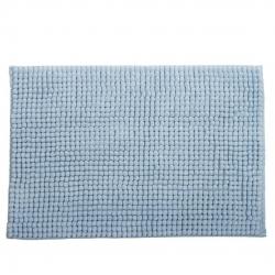 Alfombra baño confort azul 60x40 cm .