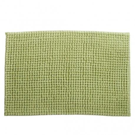 Alfombra baño confort verde 60x40 cm .
