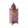 Lámpara de mesa etnica para salón 22x22x69 cm .