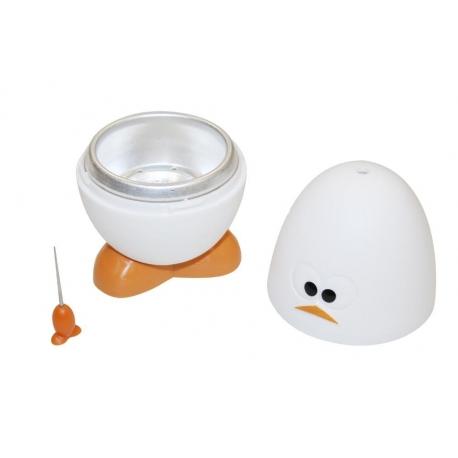 Cuece huevos microondas, color blanco