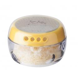 Rallador y contenedor de queso 8x8x6 cm