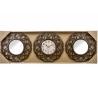 Juego 2 espejos de pared y reloj clásicos para decoración clasicos .