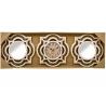Juego 2 espejos de pared y reloj OMEGA para decoración clasicos .
