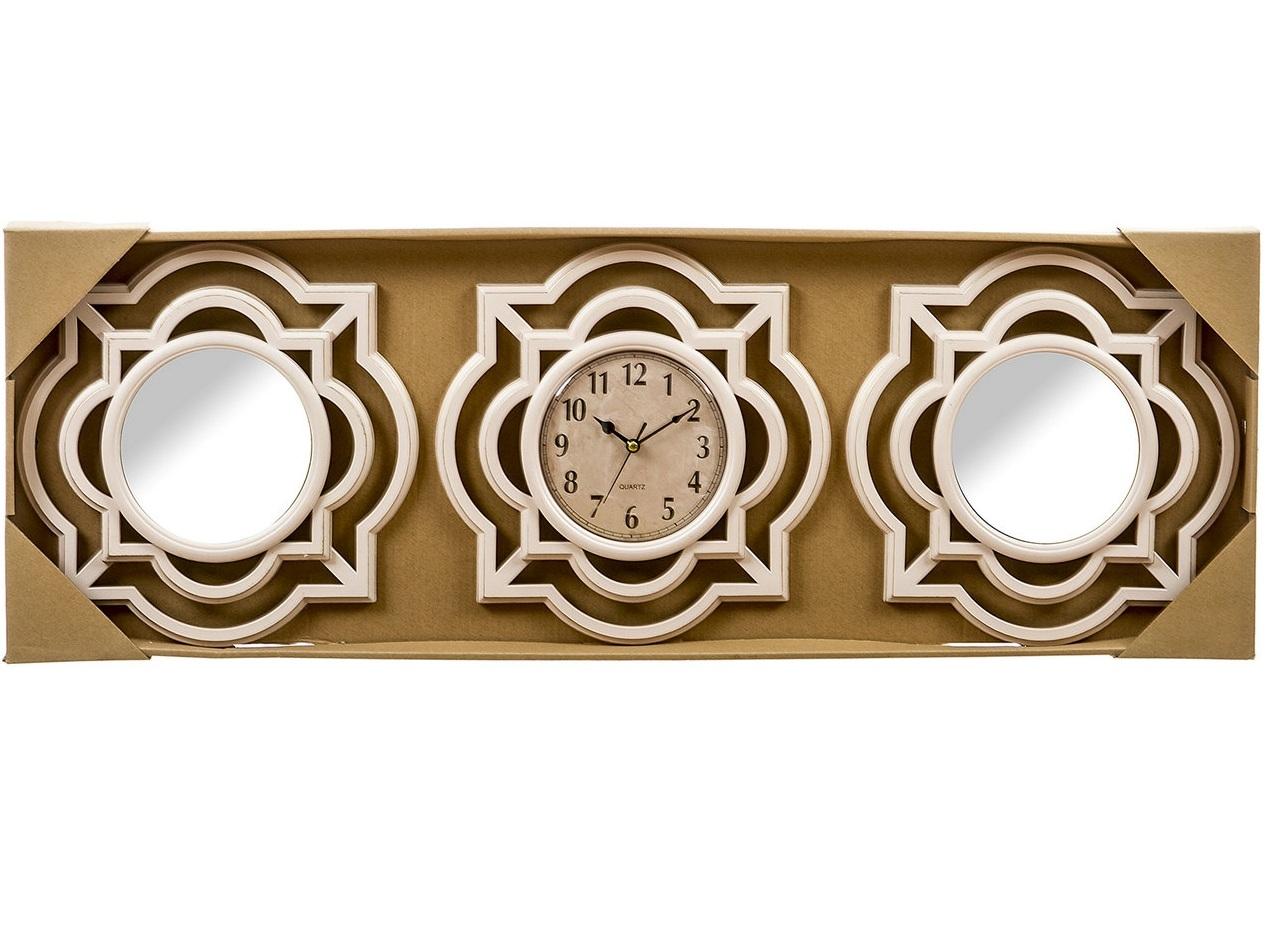 juego espejos de pared y reloj omega para decoracin clasicos